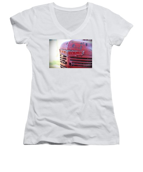 Farmall Women's V-Neck