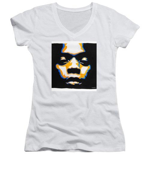 Fela. The First Black President. Women's V-Neck T-Shirt