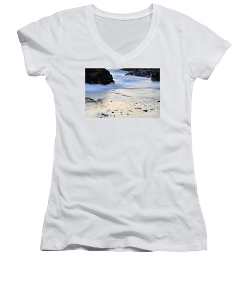 Fine Art Water Women's V-Neck