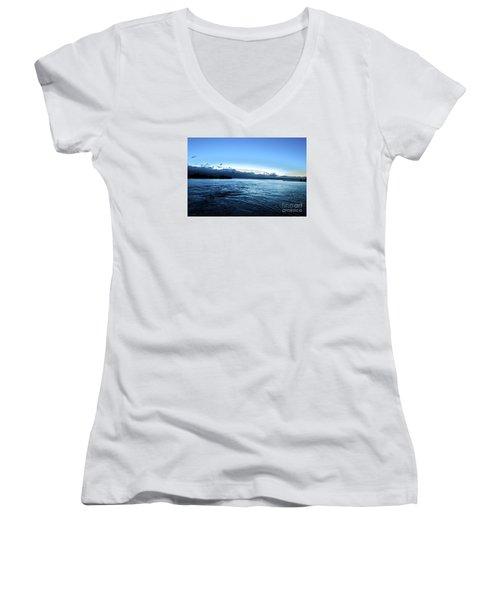 First Ferry Home Women's V-Neck T-Shirt