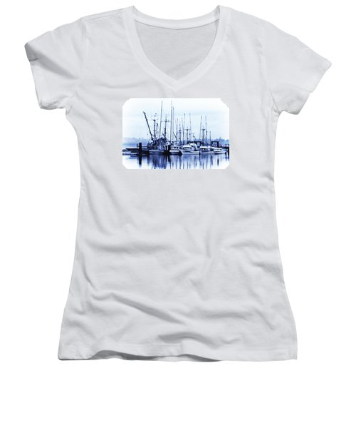 Fishers' Wharf Women's V-Neck