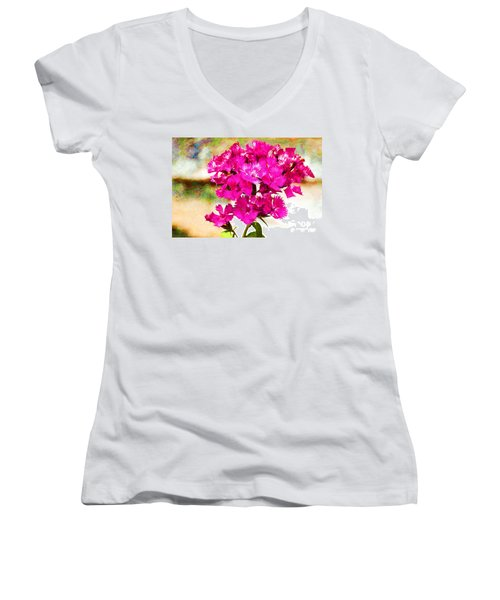 Flourish Women's V-Neck