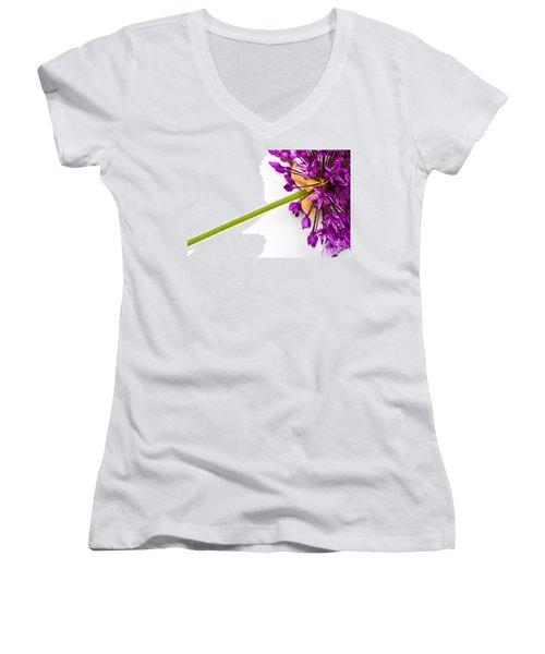 Flower At Rest Women's V-Neck