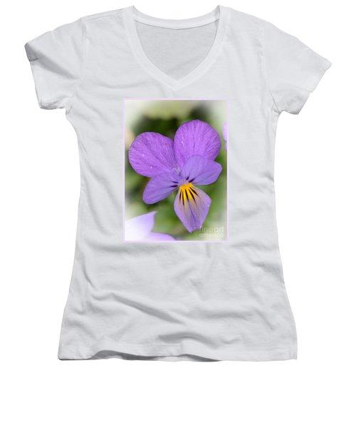 Flowers That Smile Women's V-Neck