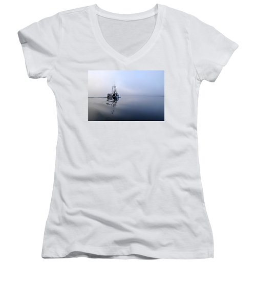 Foggy Women's V-Neck T-Shirt