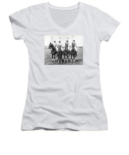 Fort Hamilton Polo Team Women's V-Neck