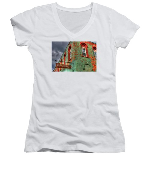 Free Parking Women's V-Neck T-Shirt