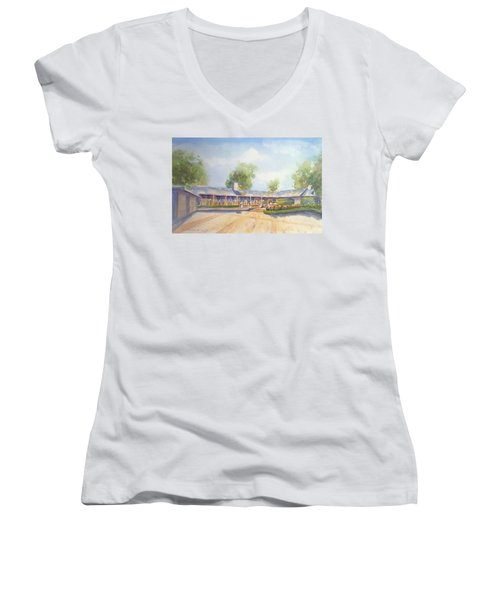 Front Of Home Women's V-Neck T-Shirt