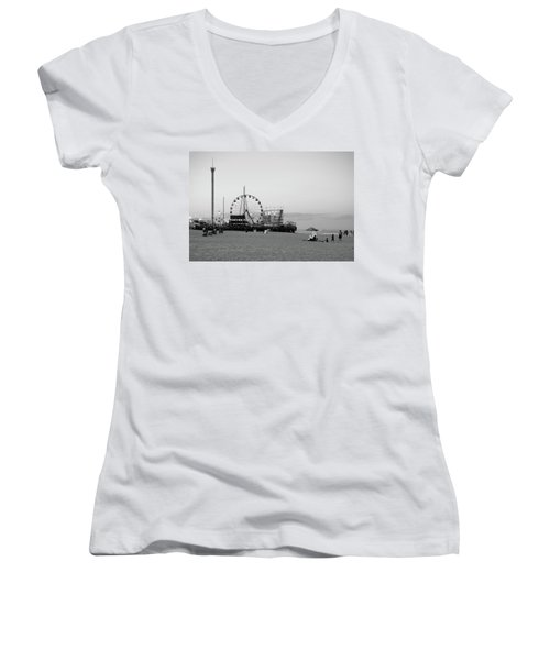 Funtown Pier - Jersey Shore Women's V-Neck