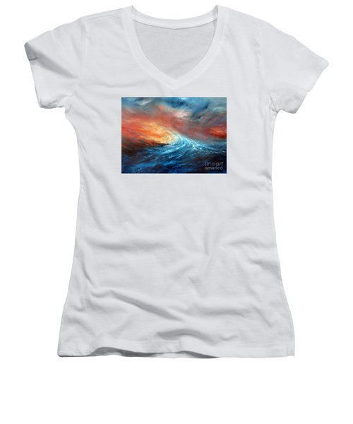 Fusion Women's V-Neck T-Shirt