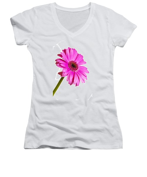 Gerbera Women's V-Neck