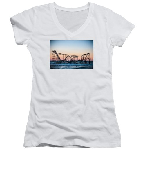 Giant Of The Sea Women's V-Neck