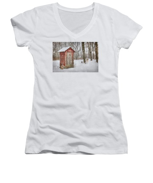 Go Wild Women's V-Neck T-Shirt