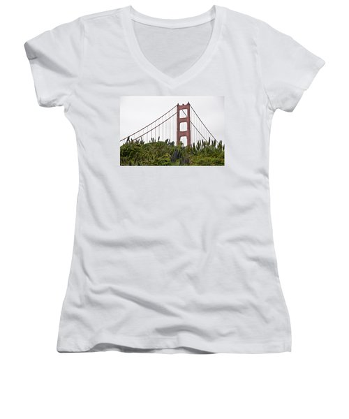 Golden Gate Bridge 1 Women's V-Neck