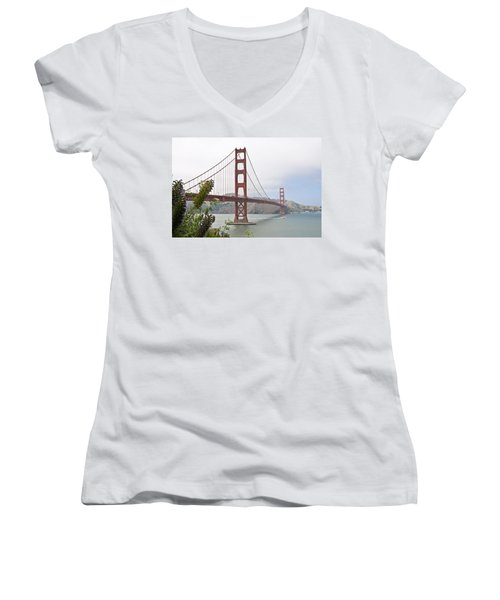 Golden Gate Bridge 3 Women's V-Neck