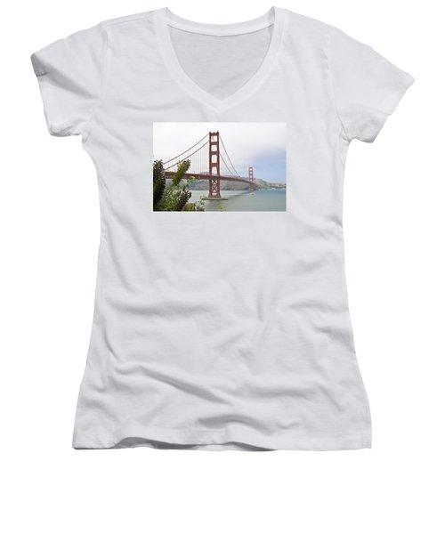 Golden Gate Bridge 3 Women's V-Neck