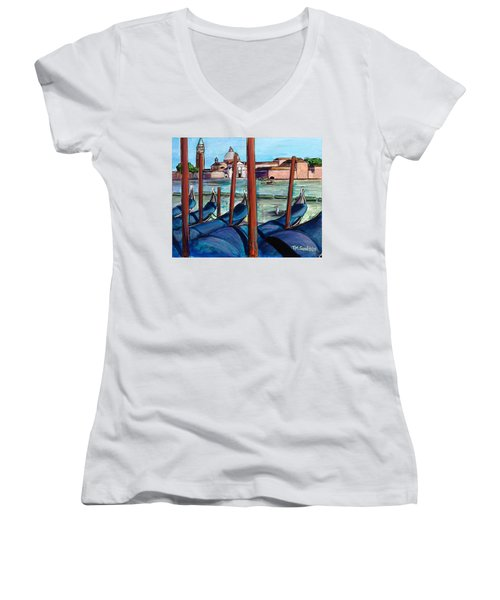 Gondolas Women's V-Neck
