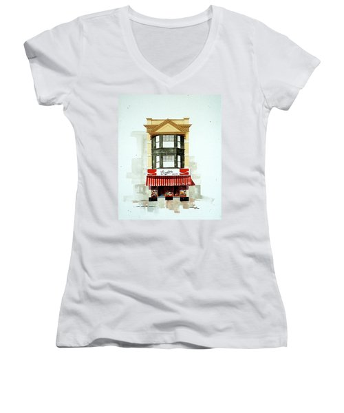 Govatos' Candy Store Women's V-Neck