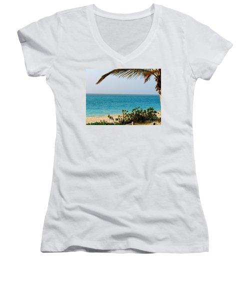 Grace Bay Women's V-Neck T-Shirt