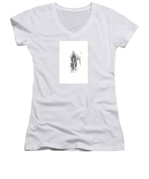 Grazing Women's V-Neck T-Shirt