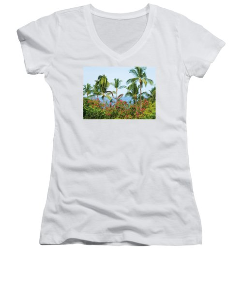 Grow Your Own Way Women's V-Neck T-Shirt