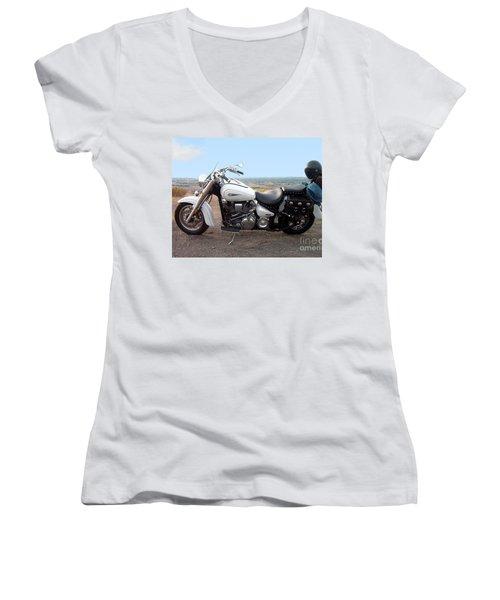 Harley Davidson Women's V-Neck