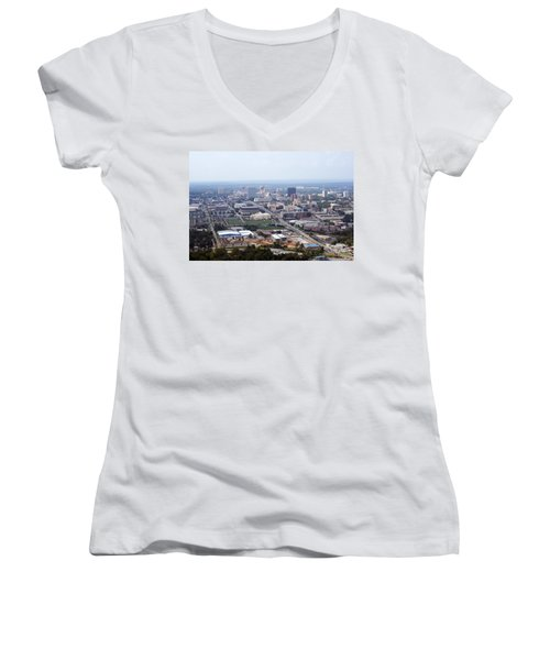 High On Columbia Women's V-Neck T-Shirt