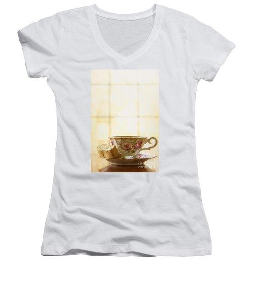 High Tea Women's V-Neck (Athletic Fit)