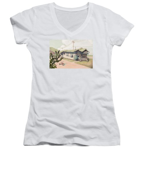 Highland Park - Bare Bones Women's V-Neck