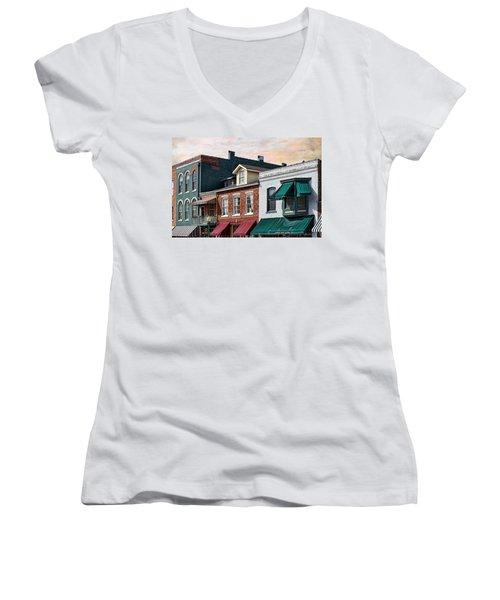 Historic Weston Women's V-Neck T-Shirt