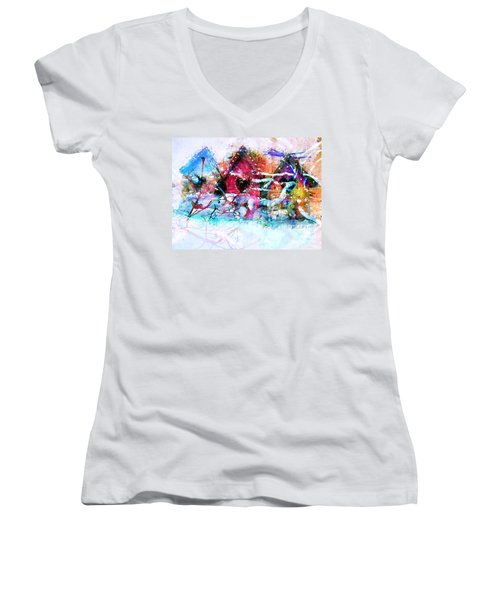 Home Through All Seasons Women's V-Neck