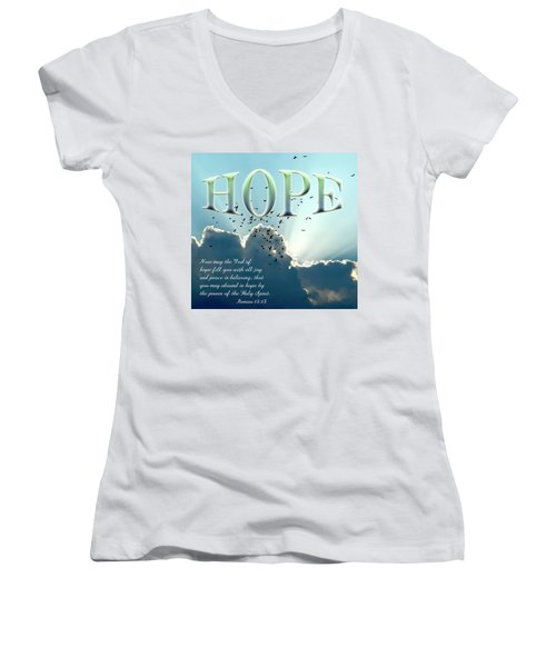 Hope Women's V-Neck (Athletic Fit)