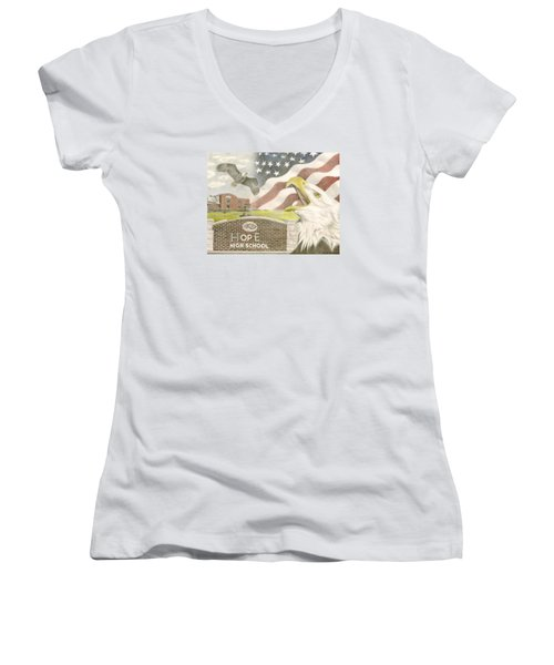 Hope High School Women's V-Neck (Athletic Fit)