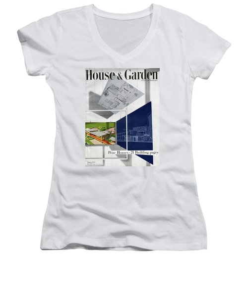 House And Garden Prize House Cover Women's V-Neck