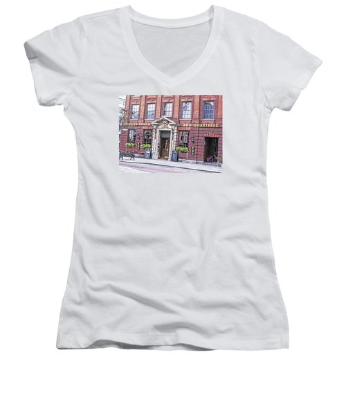 Hung Drawn And Quartered Women's V-Neck (Athletic Fit)