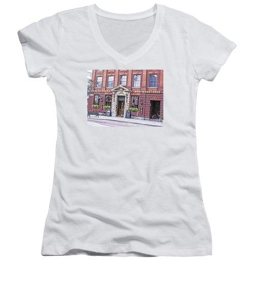 Hung Drawn And Quartered Women's V-Neck T-Shirt
