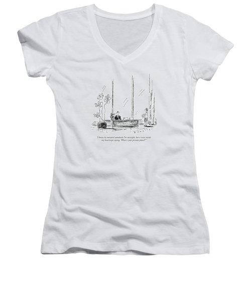 I Know By Outward Standards I'm Successful Women's V-Neck