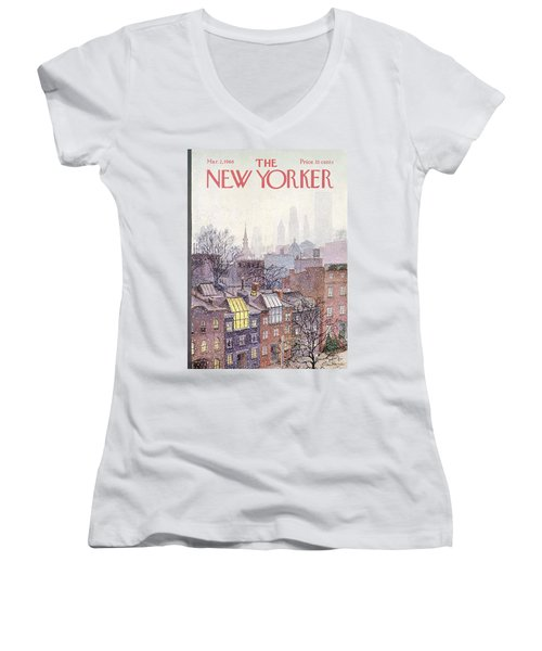 In The Borough Women's V-Neck T-Shirt