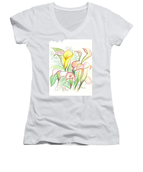 In The Golden Afternoon Women's V-Neck