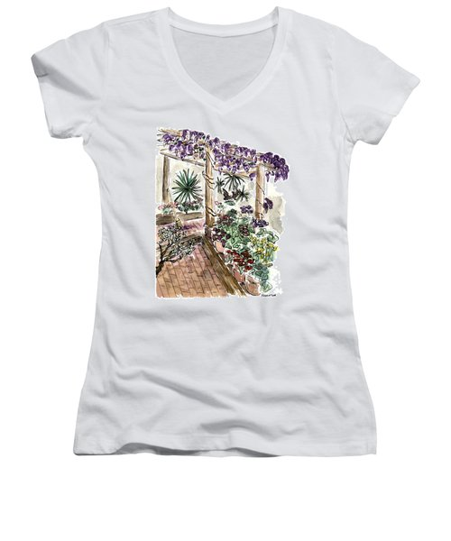 In The Greenhouse Women's V-Neck