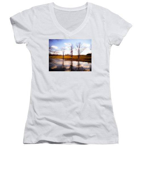 In The Mood Women's V-Neck T-Shirt