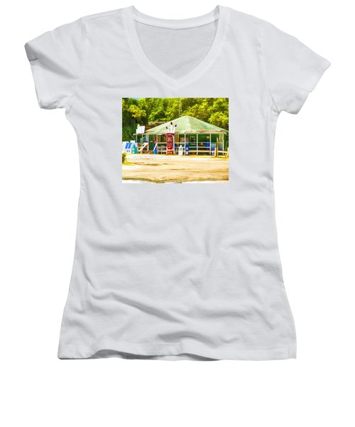 Indian Pass Women's V-Neck (Athletic Fit)