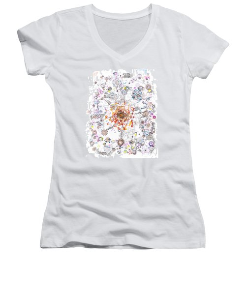 Intracellular Diversion Women's V-Neck T-Shirt