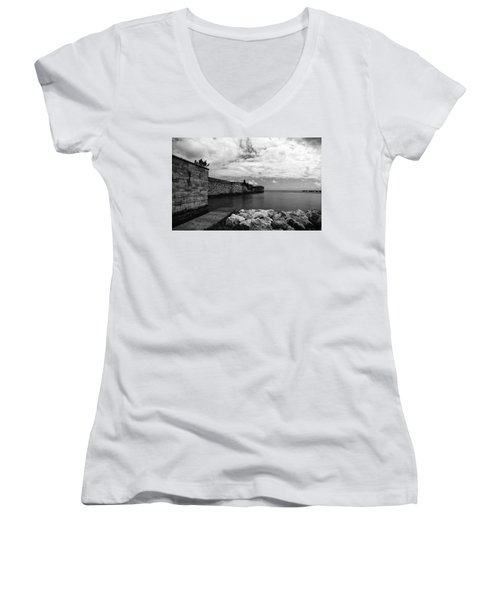 Island Fortress  Women's V-Neck