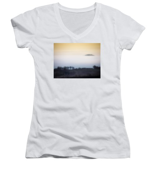 Island In The Irish Mist Women's V-Neck