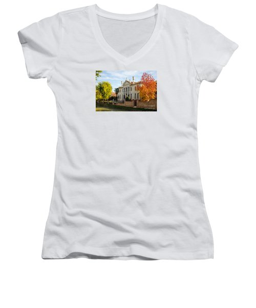 Italian Villa Women's V-Neck T-Shirt