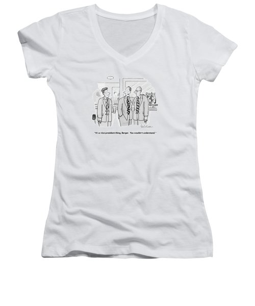 It's A Vice-president Thing Women's V-Neck