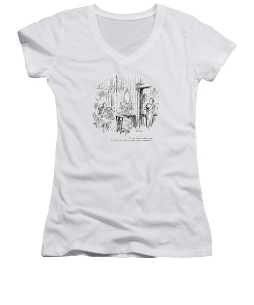 It's Our Oliver Women's V-Neck