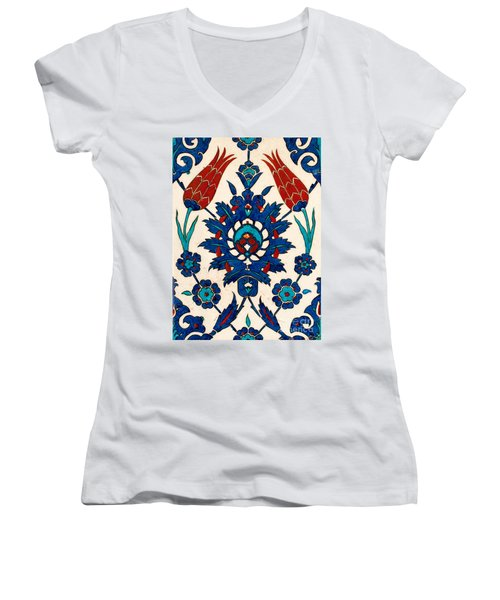 Iznik 03 Women's V-Neck (Athletic Fit)