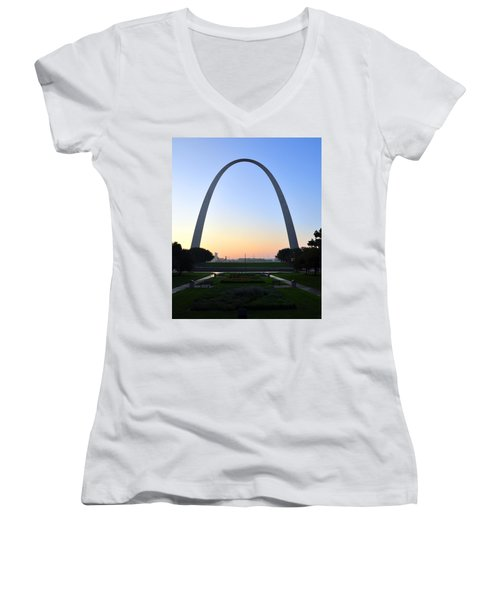 Jefferson National Expansion Memorial Women's V-Neck